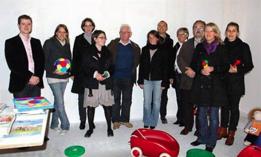 La crèche d'entreprises PIM PAM POMME ouvre à Bourguébus en janvier 2013