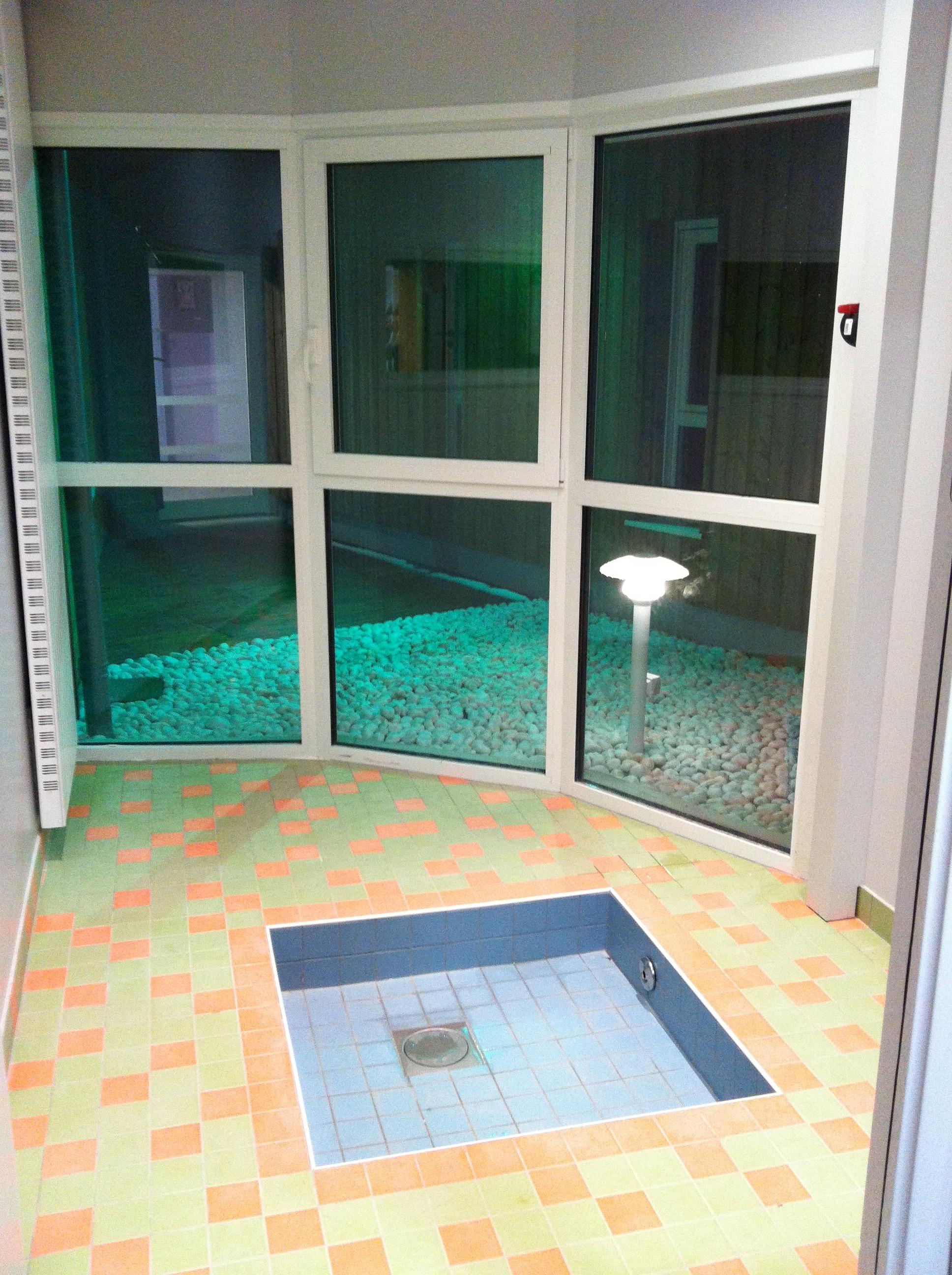 Salle de jeux d'eau
