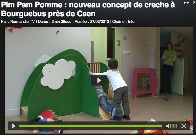 Reportage NORMANDIE TV - Pim Pam Pomme Bourguébus - 27/02/13