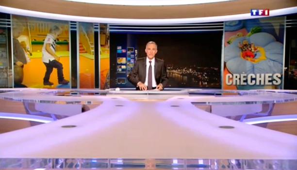 Reportage journal de 20h de TF1 - 08 octobre 2013 - PIM PAM POMME Bourguébus